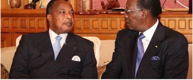 Lu pour vous : CONTESTATIONS AU TCHAD ET AU CONGO : Deby dos au mur, Sassou face au mur