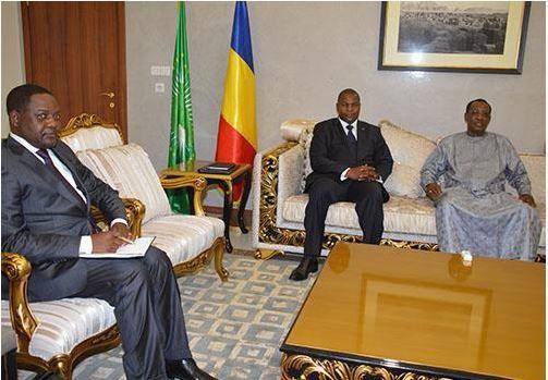 Tchad/RCA : Visite d'amitié et de travail à N'Djaména du Chef de l'Etat centrafricain