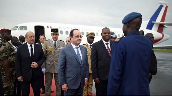 RCA: François Hollande tourne la page Sangaris