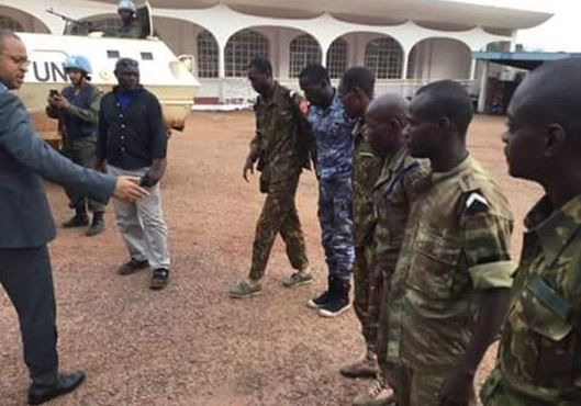LA MINUSCA SALUE LA LIBERATION DES POLICIERS RETENUS EN OTAGE