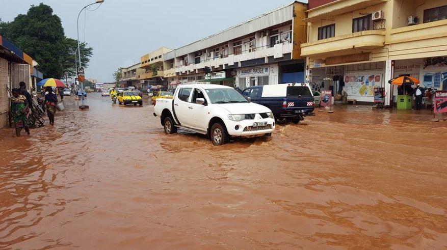 Bangui après 48 h de forte pluie les 25 et 26 juillet !