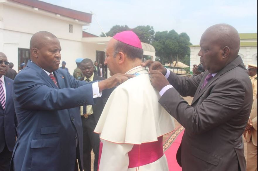 Signature d'un accord-cadre entre le Saint-Siège et la Centrafrique