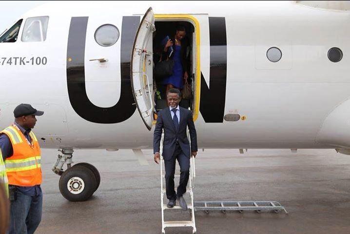 Lu pour vous : Parfait Onanga-Anyanga : « Tant que la Minusca sera présente, l'État centrafricain ne sera pas menacé »