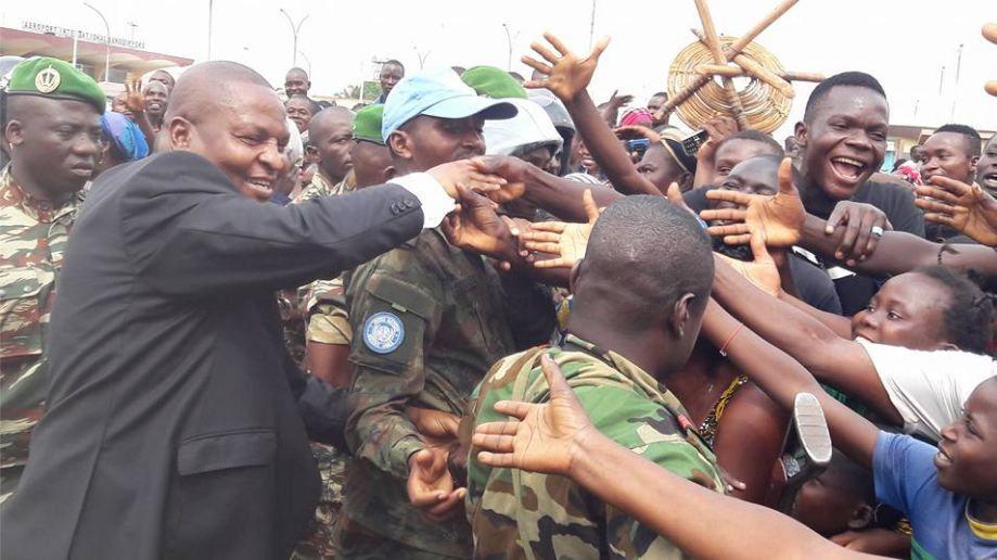 Le gouvernement contraint les déplacés de l'aéroport Bangui M'poko à libérer le camp