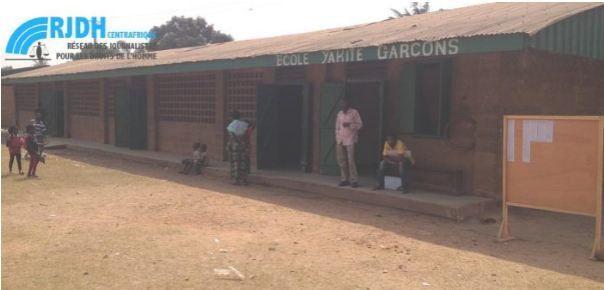 Centrafrique : Reprise des classes à l'école Yakité après 3 ans d'inactivité