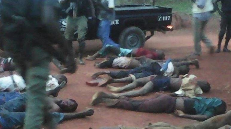 Cinq preneurs d'otages centrafricains arrêtés au Cameroun