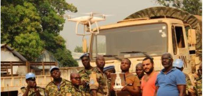 Burundi : 8 FDN de la MINUSCA termine une formation de pilote de drone