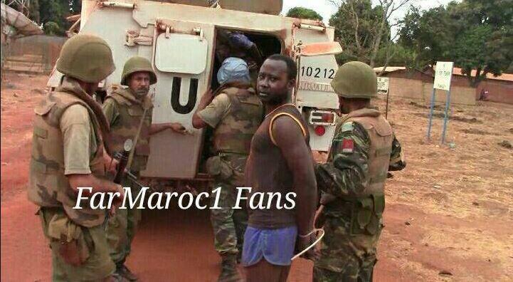 Lu pour vous : Casques bleus marocains tués en Centrafrique: les tueurs arrêtés par le contingent des FAR - MINUSCA