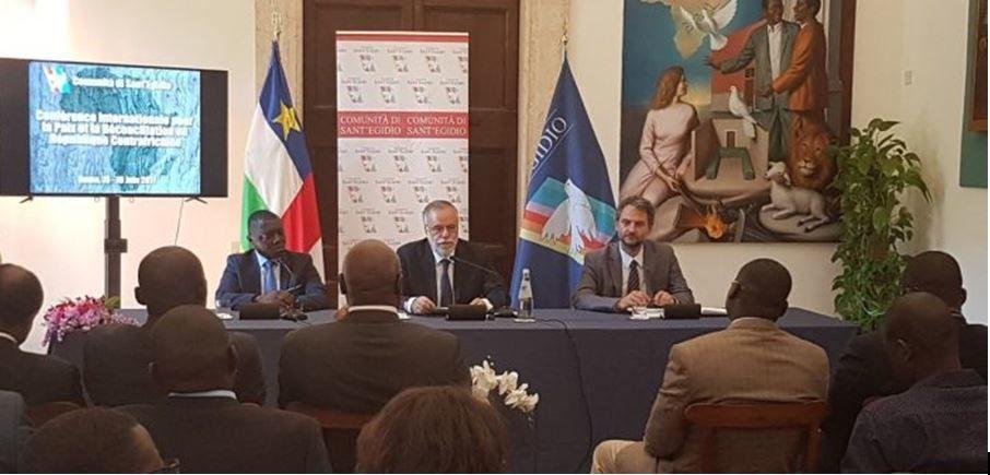 Accord de paix entre le gouvernement et les groupes armés en Centrafrique