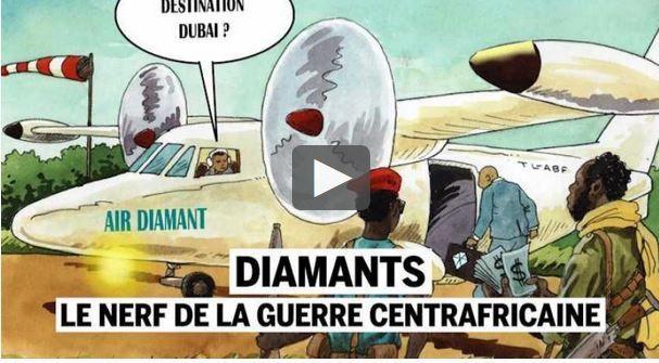 Les trafiquants de diamants en Centrafrique utilisent les réseaux sociaux à leur avantage