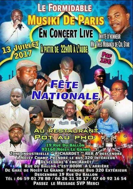 Concert de MUSIKI de Paris
