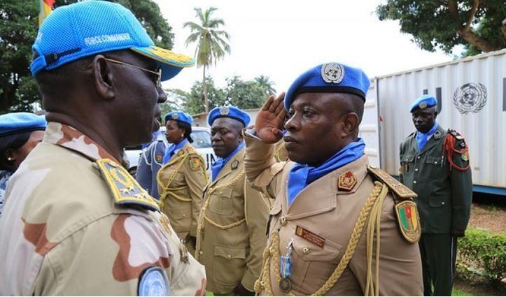 339 gendarmes camerounais en mission de stabilisation en Centrafrique