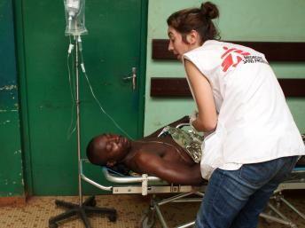 Alerte de MSF sur un camp de réfugiés surpeuplé en Centrafrique