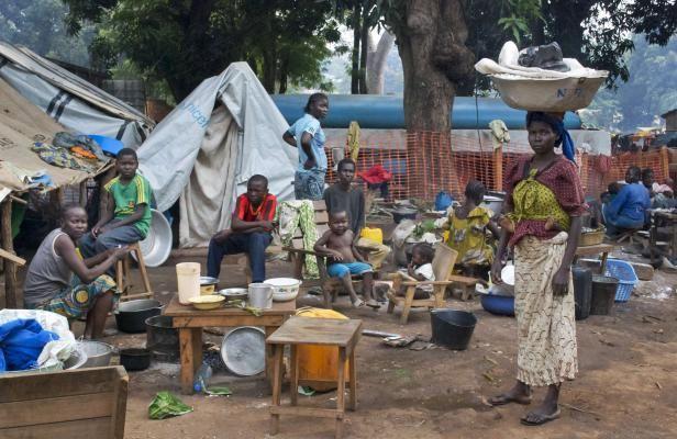 A Bossangoa, des maisons brûlées, des armes et la tension au &quot&#x3B;maximum&quot&#x3B;