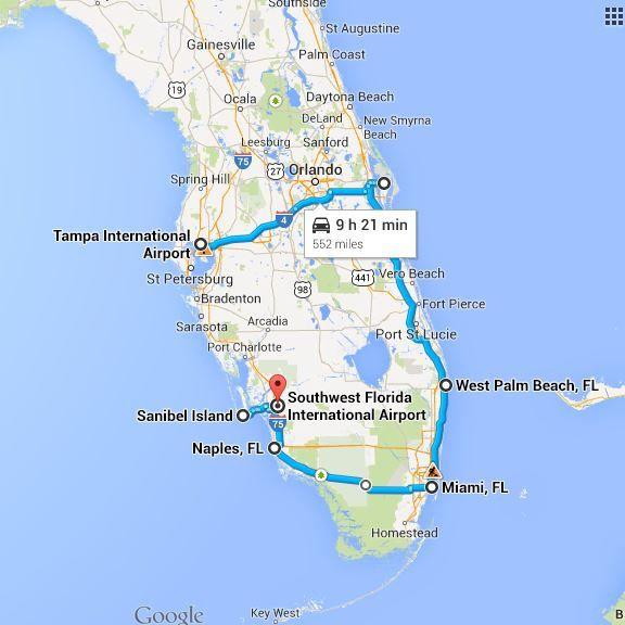 Blog en vacances ... en Floride