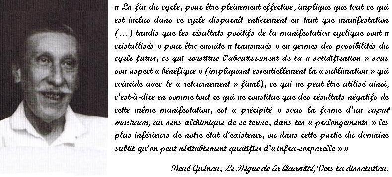 René Guénon - Vers la dissolution.