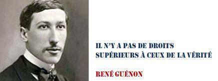 René Guénon et la politique
