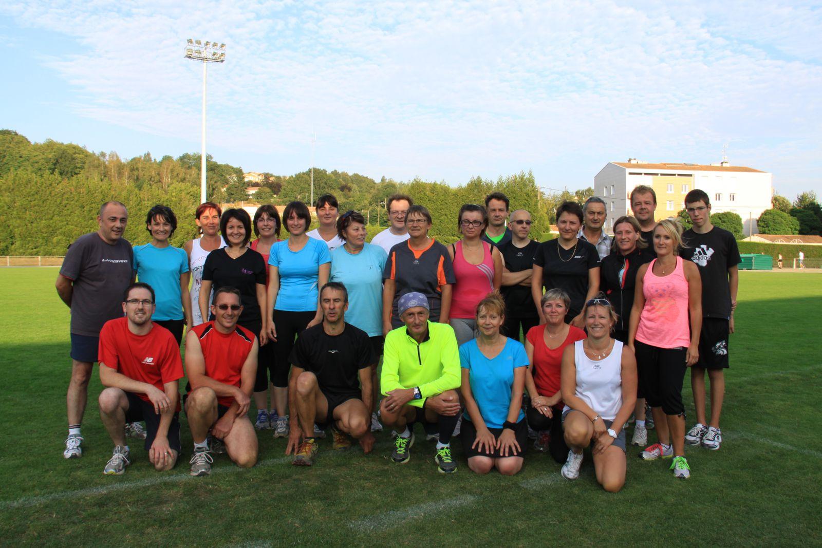 Athlé santé, entraînements avancés d'une journée