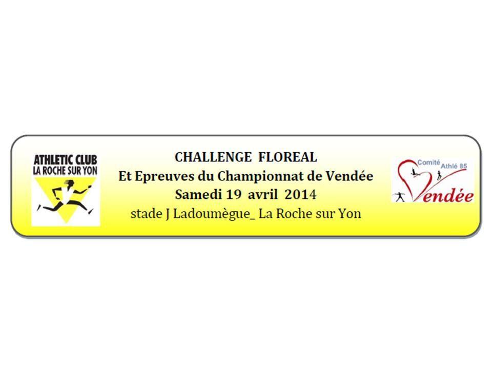 Challenge Floréal le 19 avril