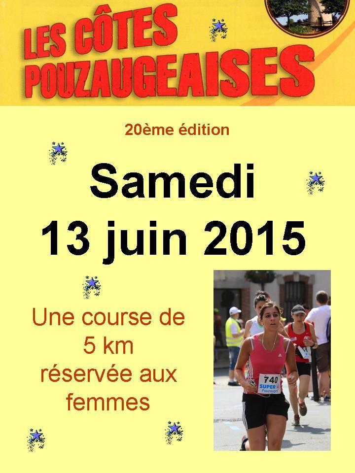 Côtes 2015, un 5km exclusivement féminin