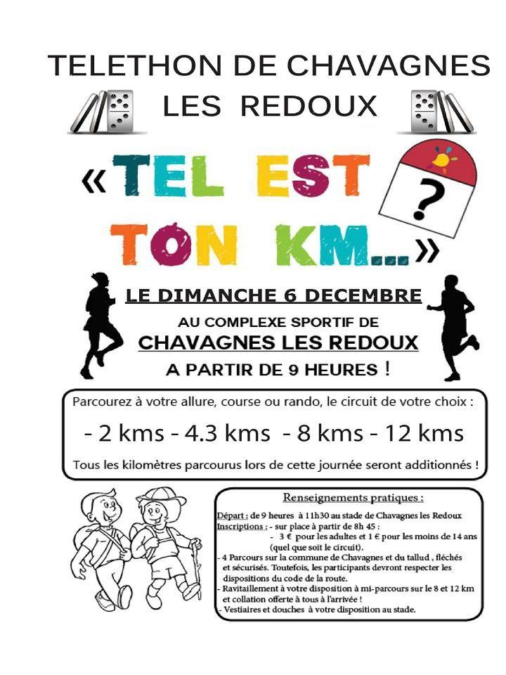 Téléthon à Chavagnes Les Redoux