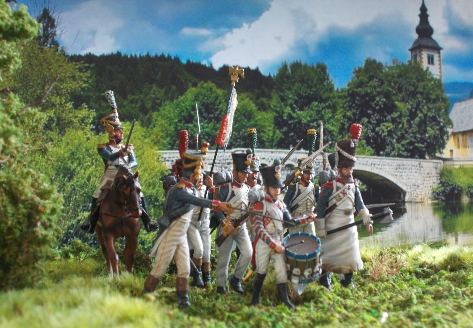 Le 19 août 1813 : sur la rive de la Boder (rivière)
