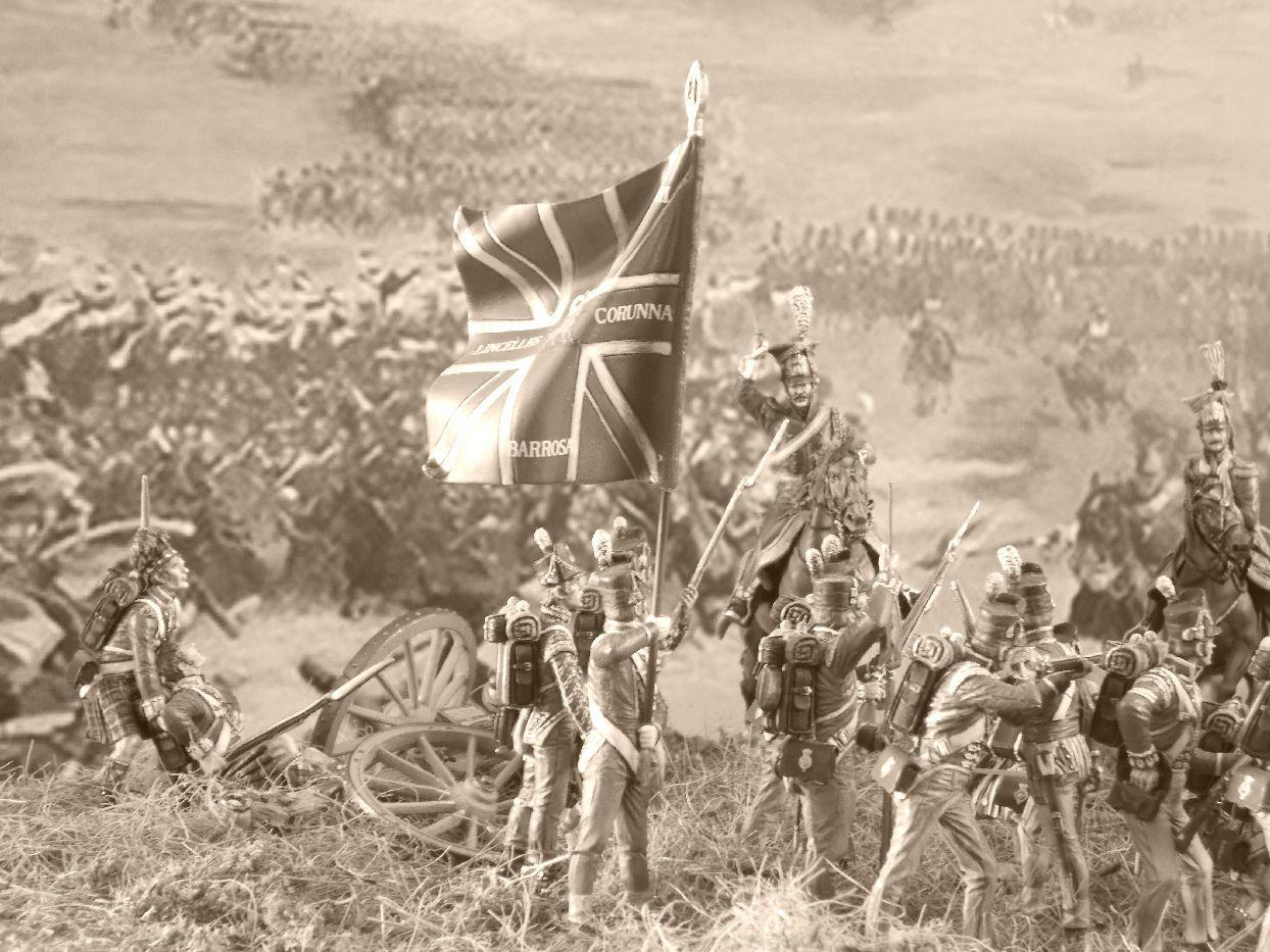 WATERLOO : 18 juin 1815 : la dernière charge des lanciers rouges.....