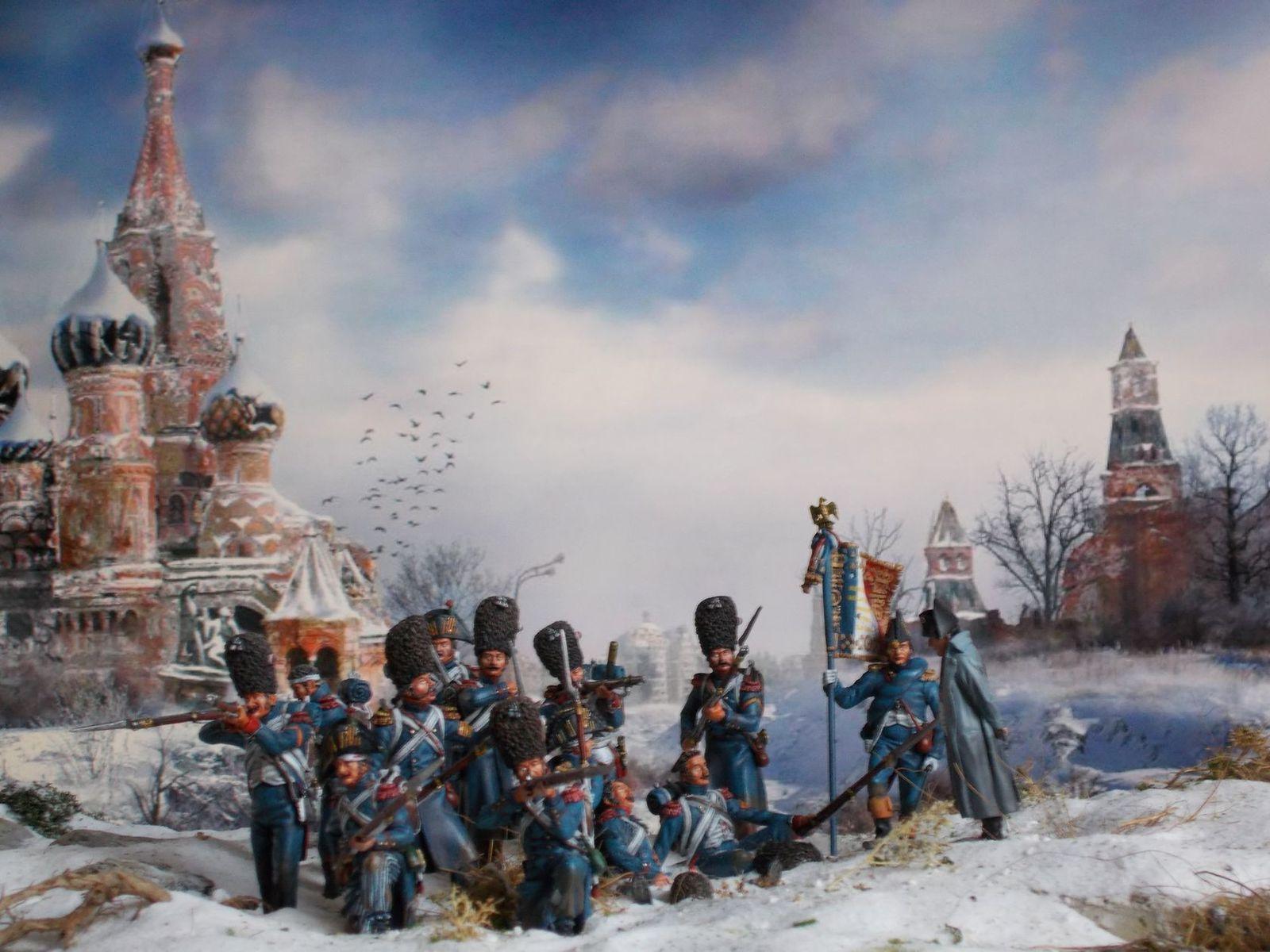 Campagne de Russie : décembre 1812.