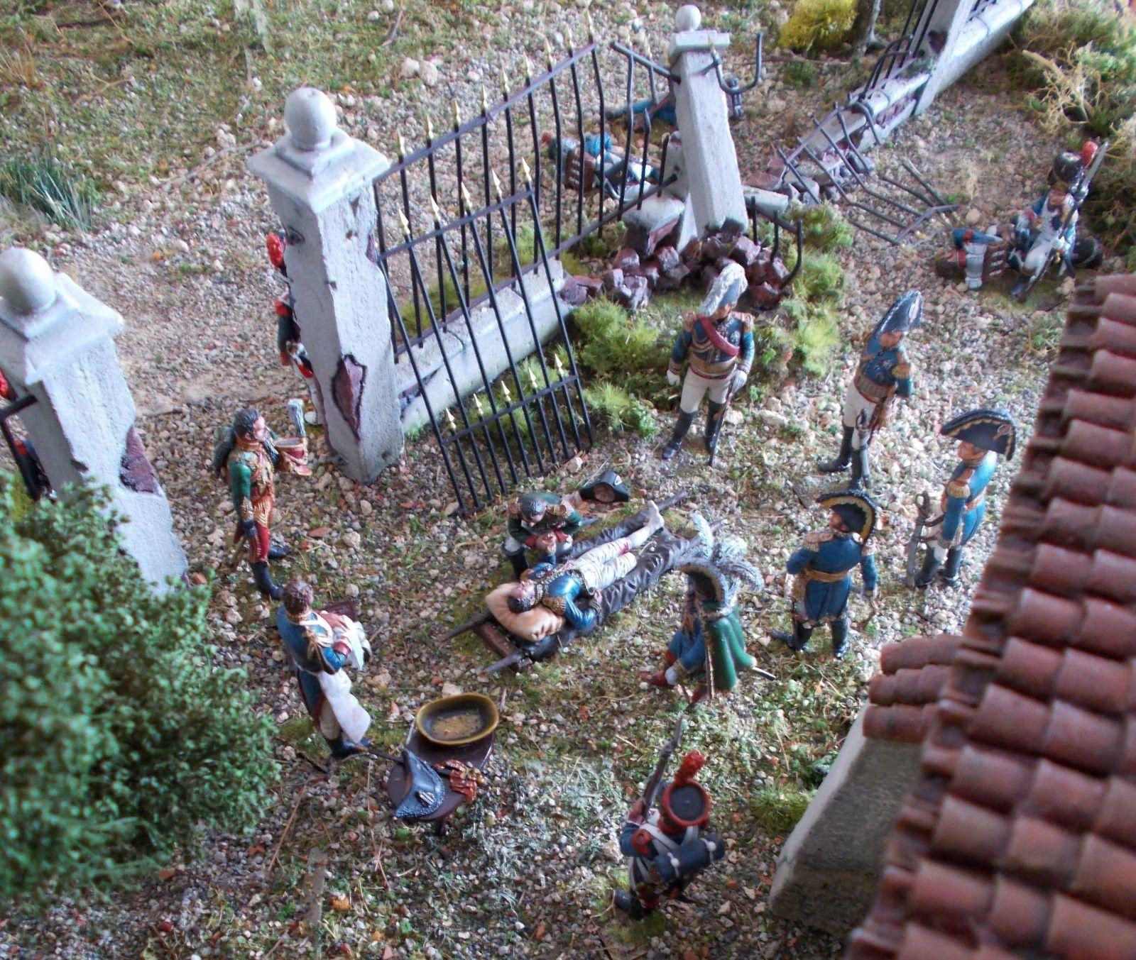 MORT DU MARECHAL LANNES - Aspern Essling 1809