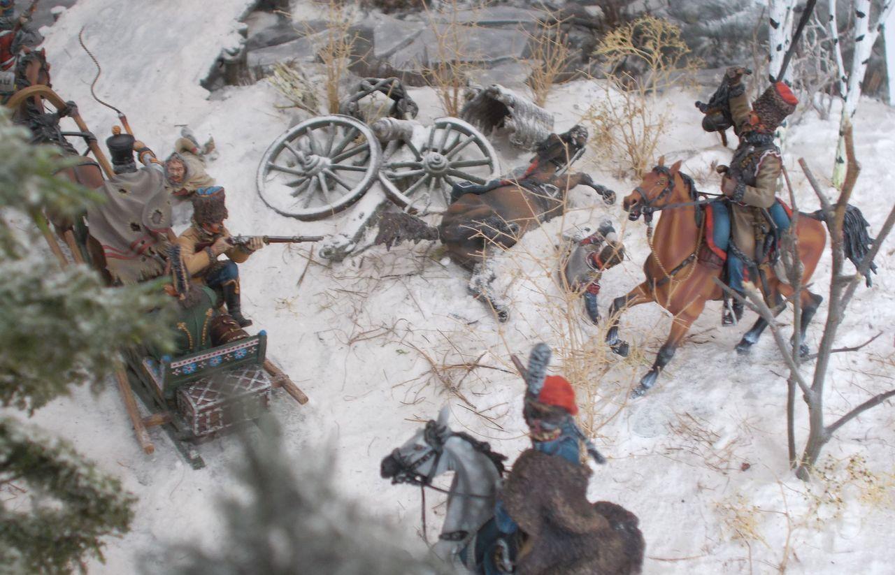 Novembre 1812 : RETRAITE DE RUSSIE (épilogue des aventures de mes soldats jouets…)
