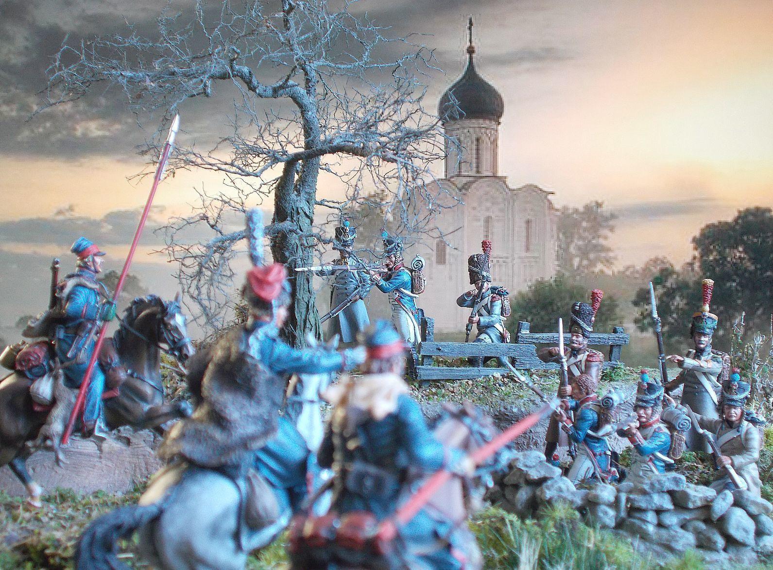 CAMPAGNE de RUSSIE 1812 : un ennemi redoutable : les cosaques