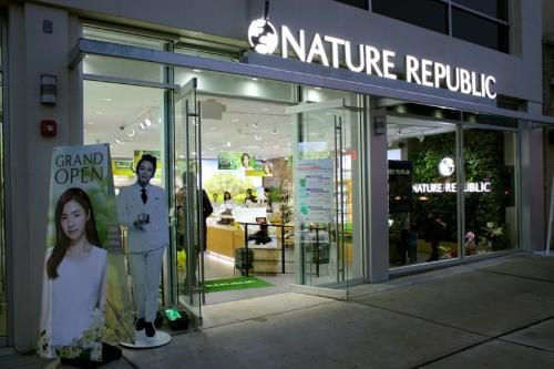 Un magasin Nature Republic