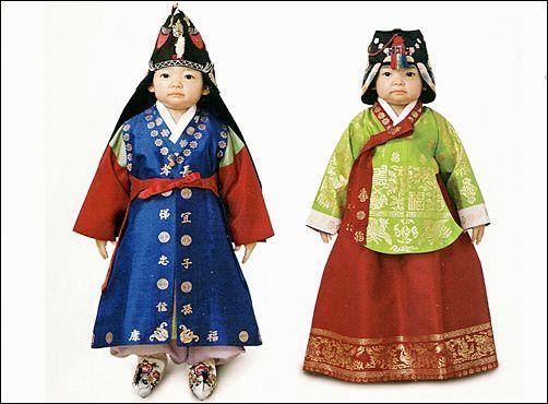 La tenue traditionnelle coréenne pour Seollal.