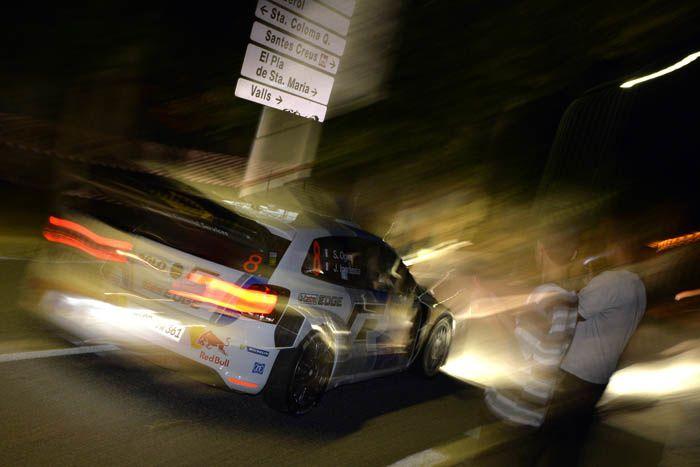 WRC-Espagne : Ogier dans le coup !