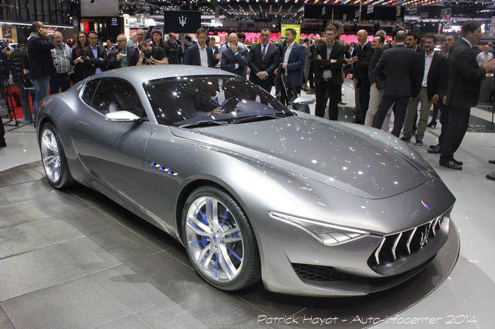 Genève : Maserati Alfieri
