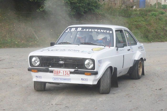 Francorchamps Historic Rally Stage : des sensations !