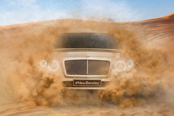 Bentley annonce son SUV