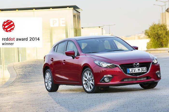 Reddot Award : Mazda3 succède à Mazda6
