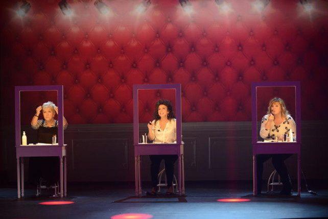 Crédit photo: leblogtvnews.com - Mimie Mathy, Isabelle de Botton et Michèle Bernier - Les 30 ans du Petit Théâtre de Bouvard