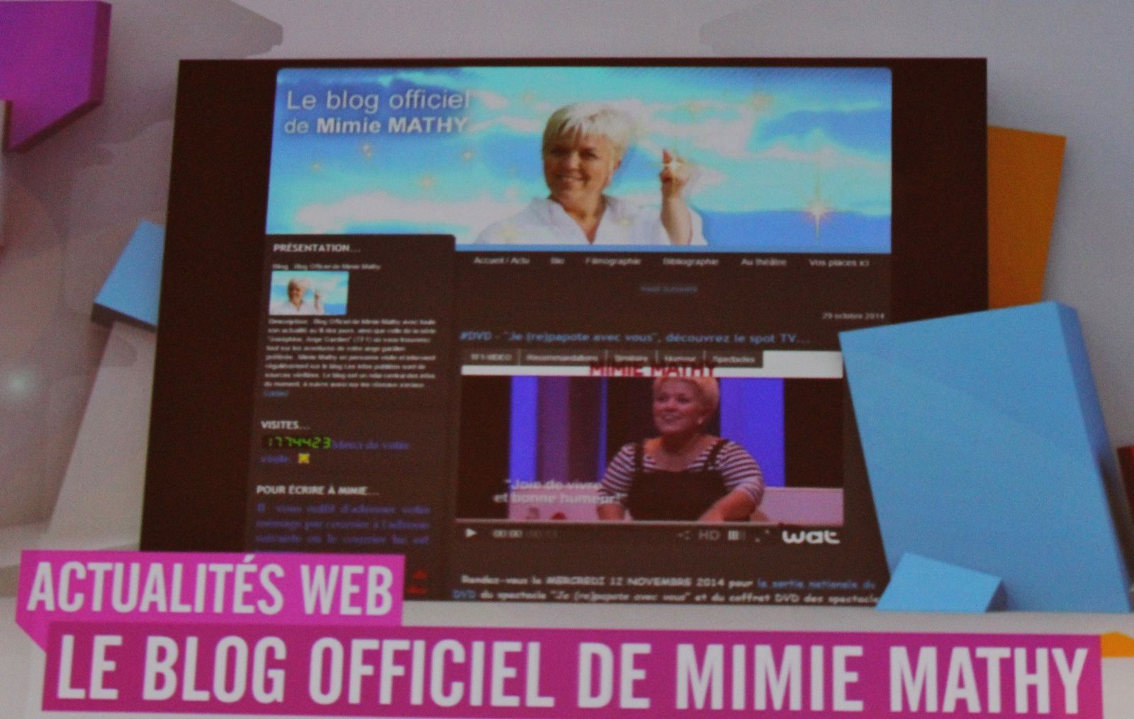 © #GBA5 / Blog Officiel de Mimie Mathy