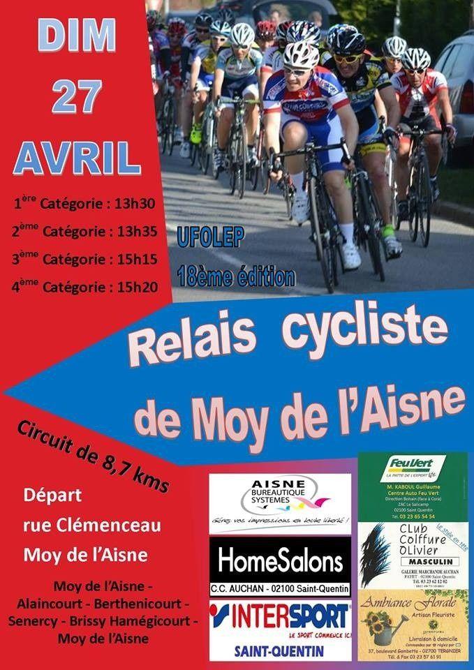 Course de MOY DE L'AISNE du 27/04/14