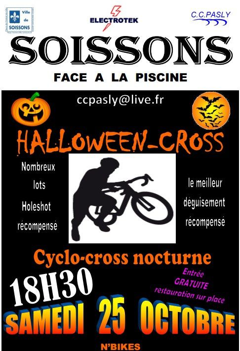 Cyclo-cross du 25/10/14 - ATTENTION changement d'horaire