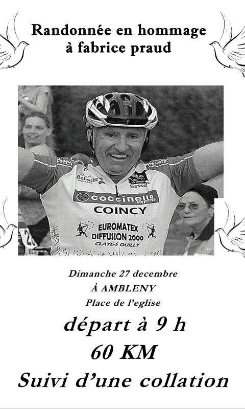 Randonnée en hommage à Fabrice PRAUD - Di 27/12/15