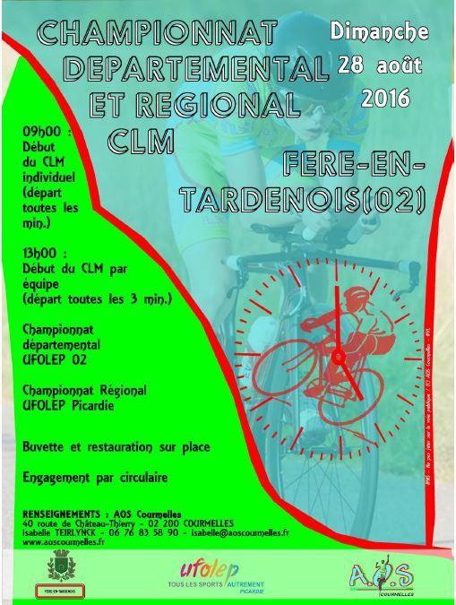 Championnat Régional et Départemental CLM - FERE EN TARDENOIS (02)