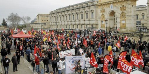 Manifestation contre l'Ani le 9 avril à Montpellier