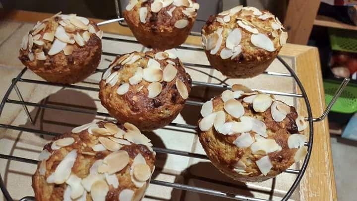 Muffins au flocons d'avoine