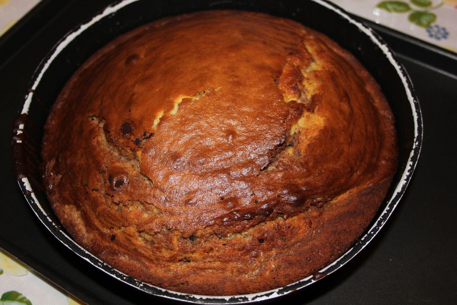 le gâteau sera bien doré...