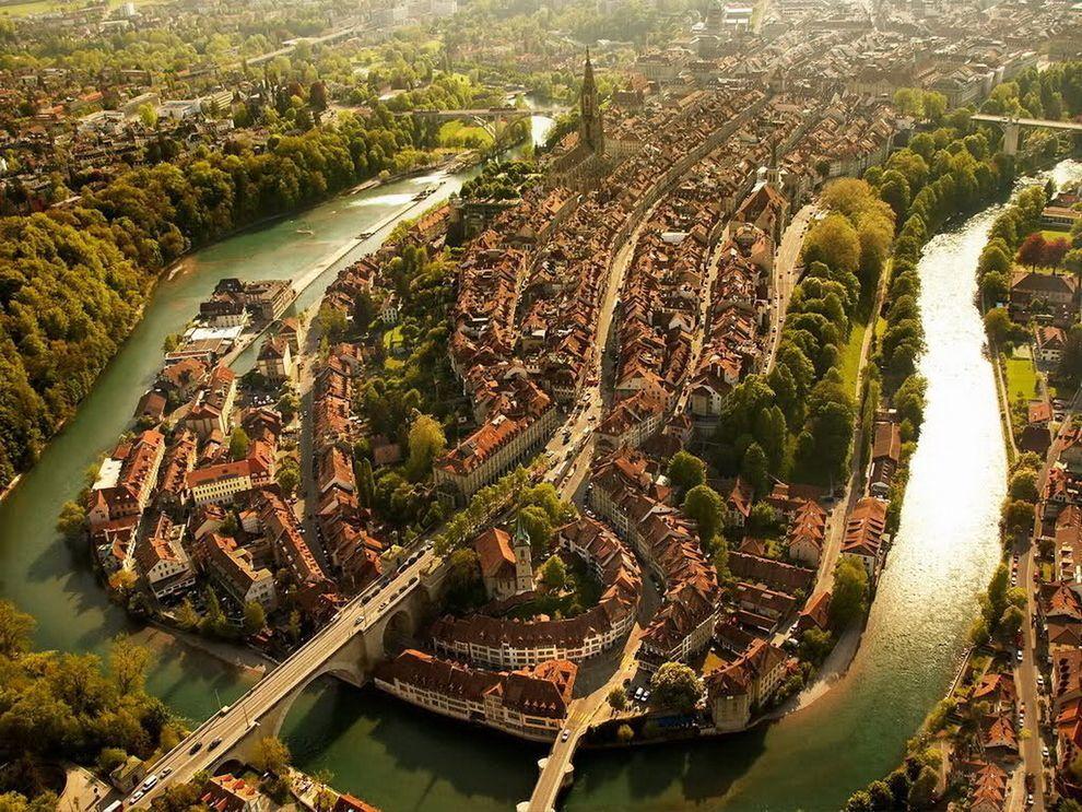 La ville de Berne
