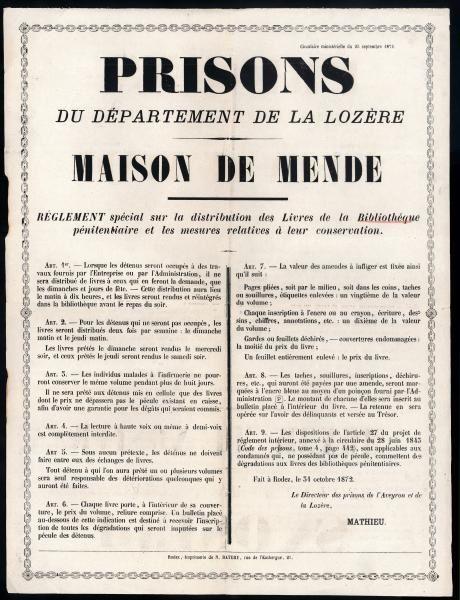 Les prisons de Mende