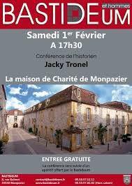 Une conférence sur la maison de charité de Monpazier, samedi 1er février